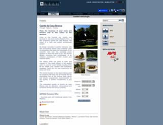 quintadacasabranca.arteh-hotels.com screenshot
