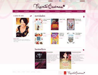 quintaessencia.com.pt screenshot