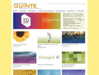 quinte.ch screenshot