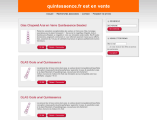 quintessence.fr screenshot