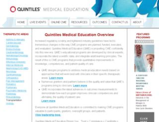 quintilesmeded.com screenshot