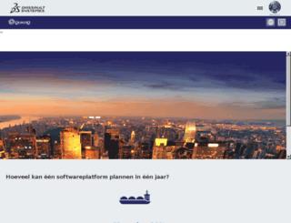 quintiq.nl screenshot