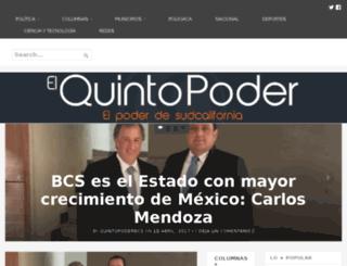 quintopoderbcs.com screenshot