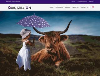quintzillion.com.au screenshot