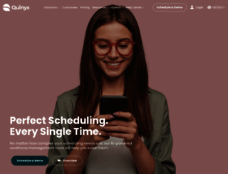 quinyx.com screenshot