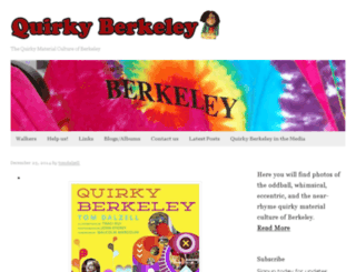 quirkyberkeley.com screenshot