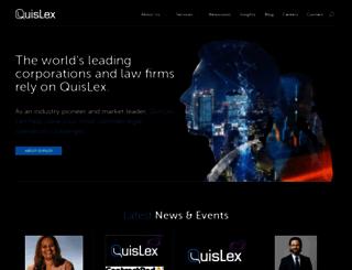 quislex.com screenshot