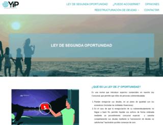 quitardeudas.com screenshot