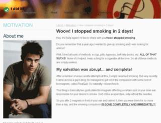 quitnowblog.info screenshot