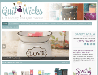 quitwicks.com screenshot