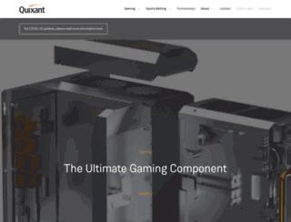 quixant.com screenshot