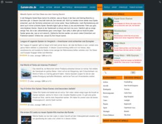 quiz-news.de screenshot