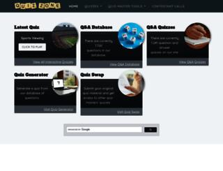 quiz-zone.co.uk screenshot