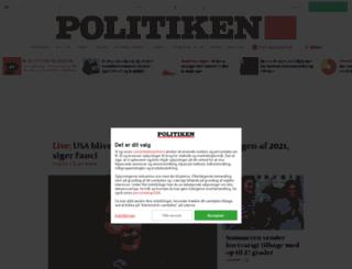 quiz.politiken.dk screenshot