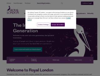 quiz.royallondon.com screenshot