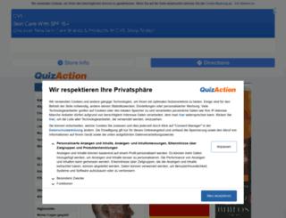 quizaction.de screenshot