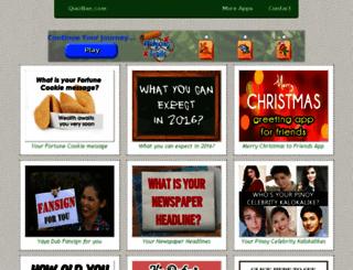 quizbae.com screenshot
