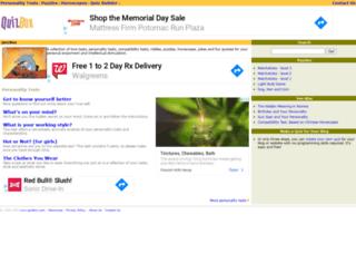 quizbox.com screenshot