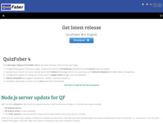 quizfaber.com screenshot