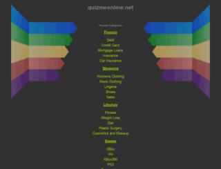 quizmeonline.net screenshot