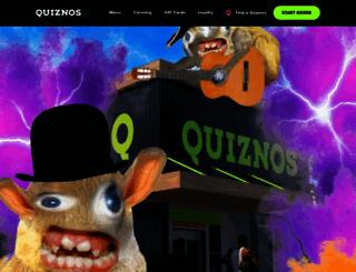 quiznos.com screenshot
