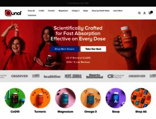 qunol.com screenshot