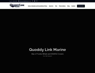 quoddylinkmarine.com screenshot