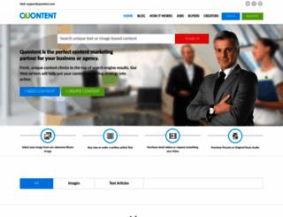 quontent.com screenshot