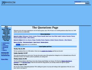 quotationspage.com screenshot