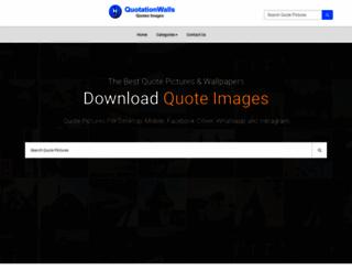 quotationwalls.com screenshot