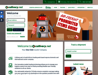 quote.collivery.co.za screenshot