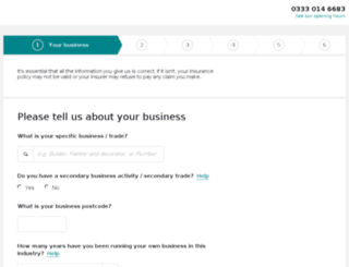 quote.simplybusiness.co.uk screenshot