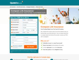 quotebee.co.uk screenshot