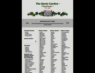 quotegarden.com screenshot