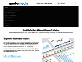 quotemedia.com screenshot