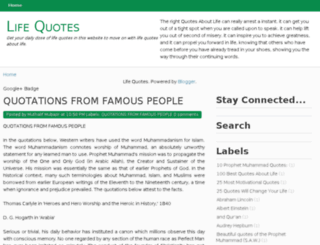 quotes-aboutlife.org screenshot