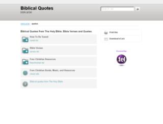 quotes.biblical.tel screenshot