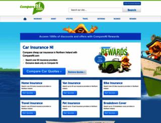 quotes.compareni.com screenshot