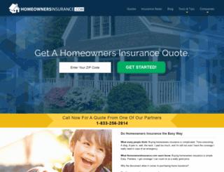 quotes.homeownersinsurance.com screenshot