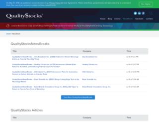 quotes.qualitystocks.net screenshot