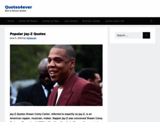 quotes4ever.com screenshot