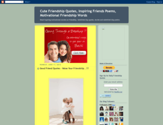 quotes4friendship.blogspot.com screenshot