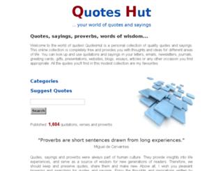 quoteshut.com screenshot