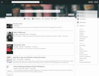 quotev.com screenshot