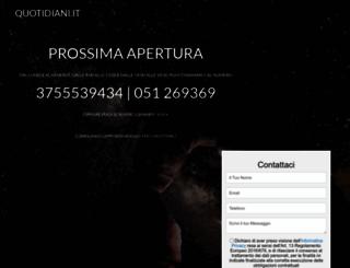 quotidiani.it screenshot