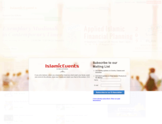 quran.islamicevents.sg screenshot
