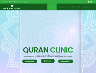quranclinic.com screenshot