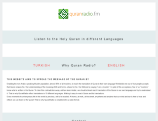 quranradio.fm screenshot
