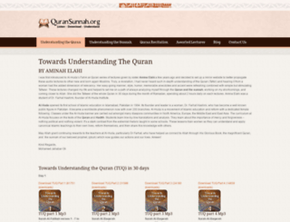 quransunnah.org screenshot