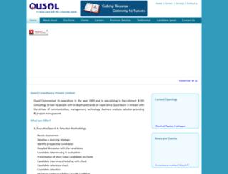 qusolconsultancy.com screenshot